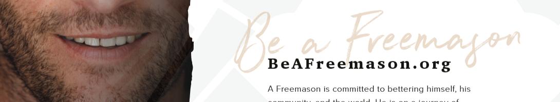Be a Freemason
